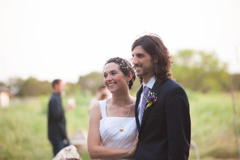 Organic farm wedding on @offbeatbride