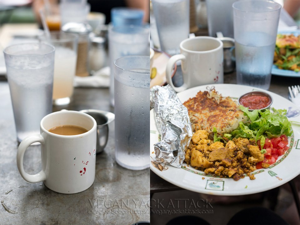 Breakfast at Bouldin Creek Cafe - Austin TX
