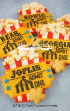 Popcorn with golden ticket