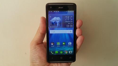 Acer Liquid Z410 ด้านหน้า