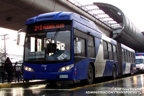 Transantiago - Subus Chile - Caio Mondego LA / Volvo (WA9990)