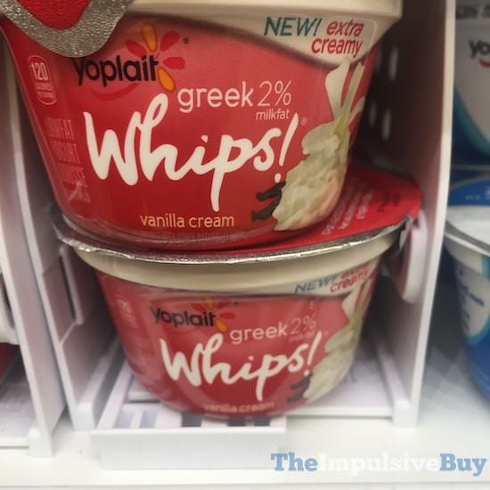 Yoplait Greek 2% Whips Vanilla Cream Yogurt