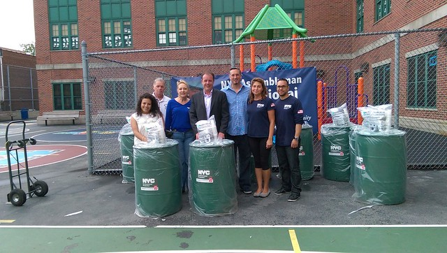 Rain Barrel Giveaway - Morris Park, Bronx