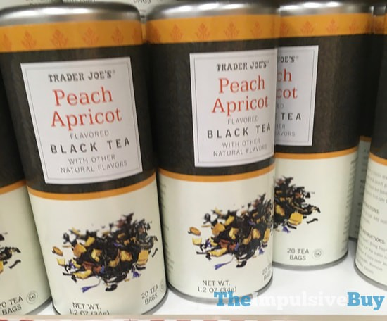 Trader Joe's Peach Apricot Black Tea