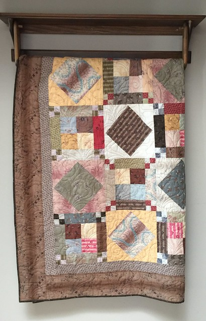 Quilt donated to Quilts of Compassion.