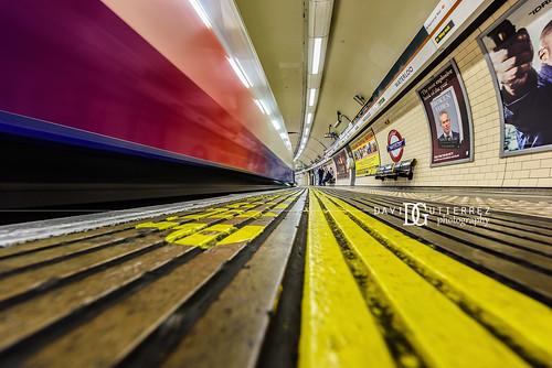 Waterloo Underground Station, London, UK