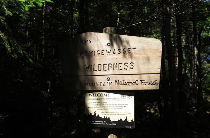 Carrigain Notch Pemigewasset Sign