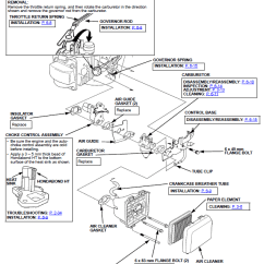 Honda Engine Gcv160 Carburetor Diagram 2006 Chevy Silverado Bose Stereo Wiring Gcv190 Parts. Parts List And Type A2r Vin# Gjae . Engines ...
