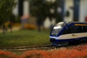 mobilna makieta kolejowa