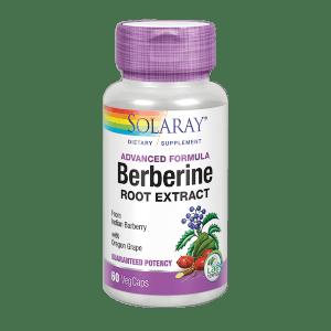 BERBERINE 60 CÁPSULAS Solaray