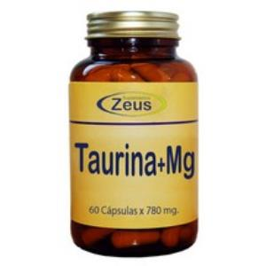 L-TAURINA + MG 60 CÁPSULAS Zeus
