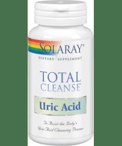 TOTAL CLEANSE URIC ACID 60 cápsulas Solaray