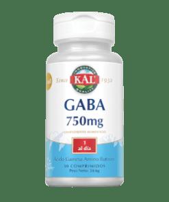 GABA 750 mg 30 COMPRIMIDOS KAL