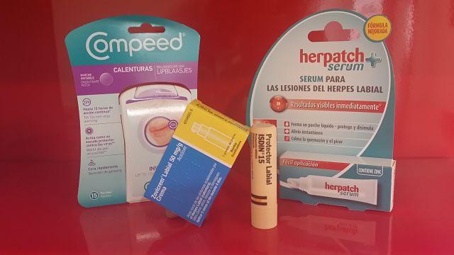 herpes labial farmacia escribanos