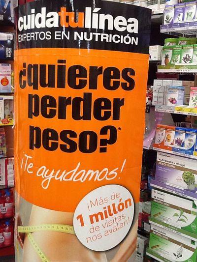 Servicio de nutrición Farmacia Escribanos