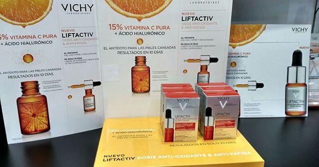 Liftactiv de Vichy Concentrado Antioxidante Antifatiga | Dermocosmética