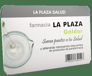 Tarjeta La Plaza Salud - Farmacia La Plaza - Gáldar