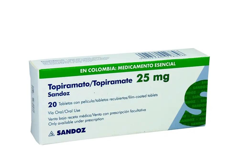 TOPIRAMATO: Qué es para qué sirve nombre comercial y más