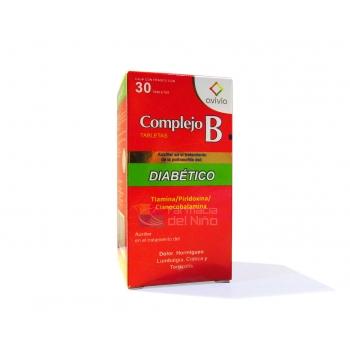B COMPLEX DIABETIC (thiamin pyridoxine cyanocobalamin ...