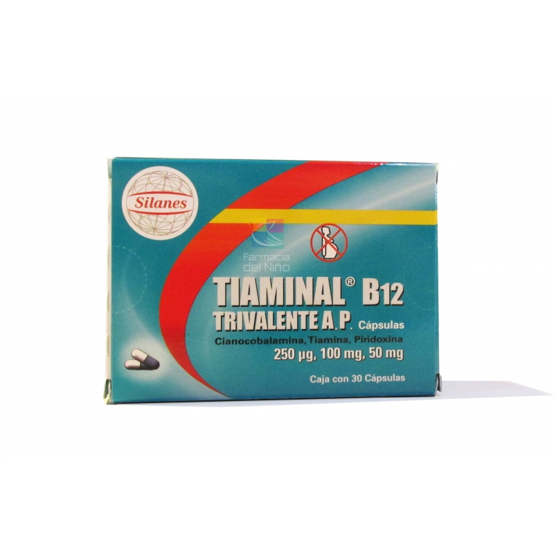 Tiaminal TRIV AP B12 (Cyanocobalamin / THIAMIN ...