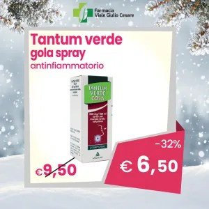 Tantum Verde Gola spray scontato