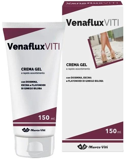 VENAFLUX VITI - CREMA GEL A RAPIDO ASSORBIMENTO