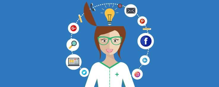 redes sociales para la farmacia