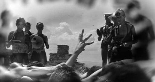 Sebastian devorado por sus amantes. Escena final de De repente el último verano.