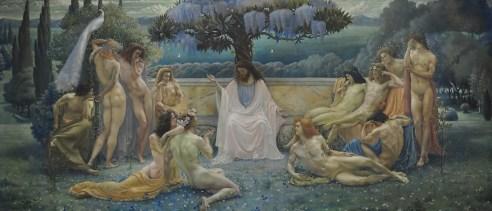 La Escuela de Platón, 1898, Paris: Musée d'Orsay