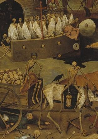 Pieter Brueghel el Viejo: El triunfo de la muerte (1562, Museo del Prado) detalle