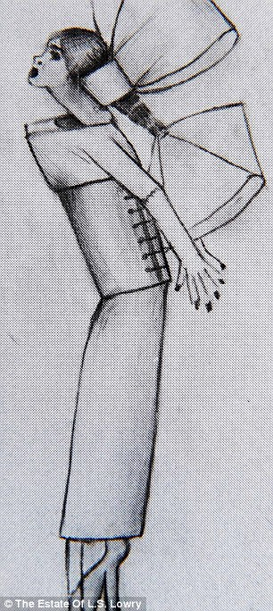 Drawing of Carol found after Lowry's death (3)