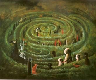 Leonora Carrington Labyrinth