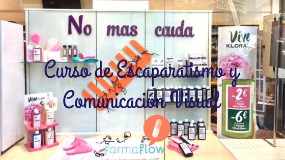 Curso de Escaparatismo y Comunicación Visual FarmaFlow 75b6f2fd891a