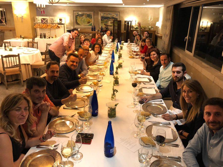Cena Parador Salamanca Previa al Congreso