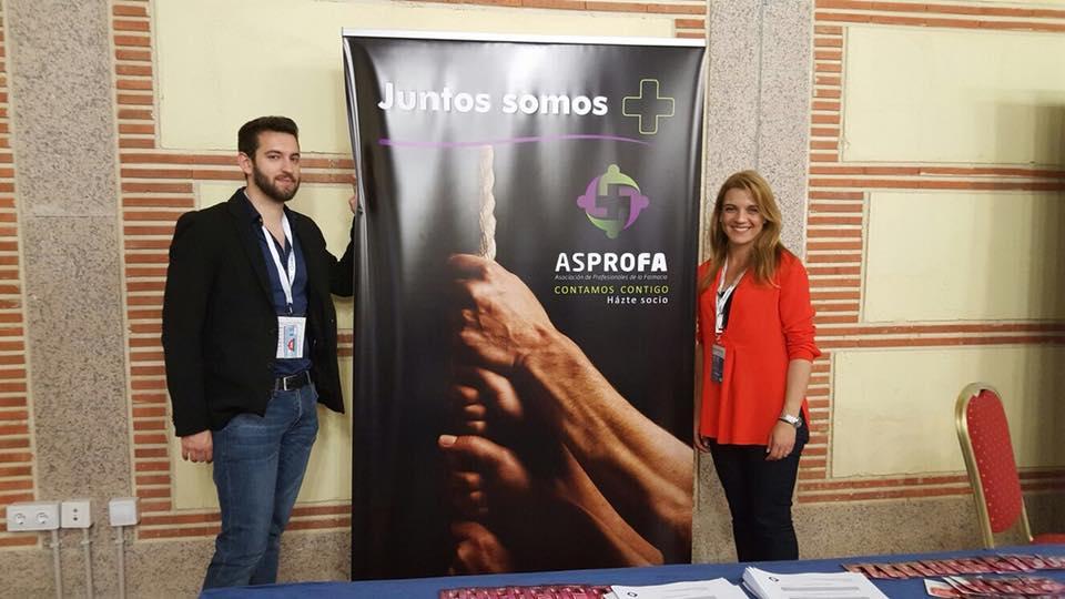 Stand Asprofa Guillermo Melgar y Angy
