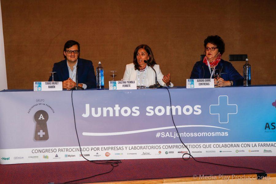 Mesa de Dermo Congreso de Salamanca
