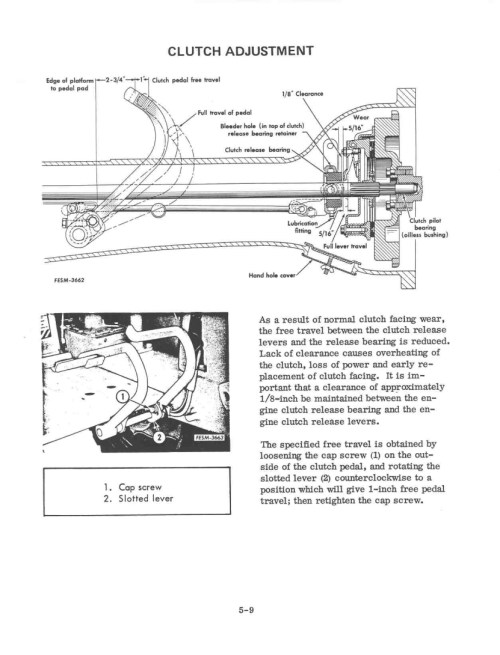 small resolution of farmall cub clutch diagram