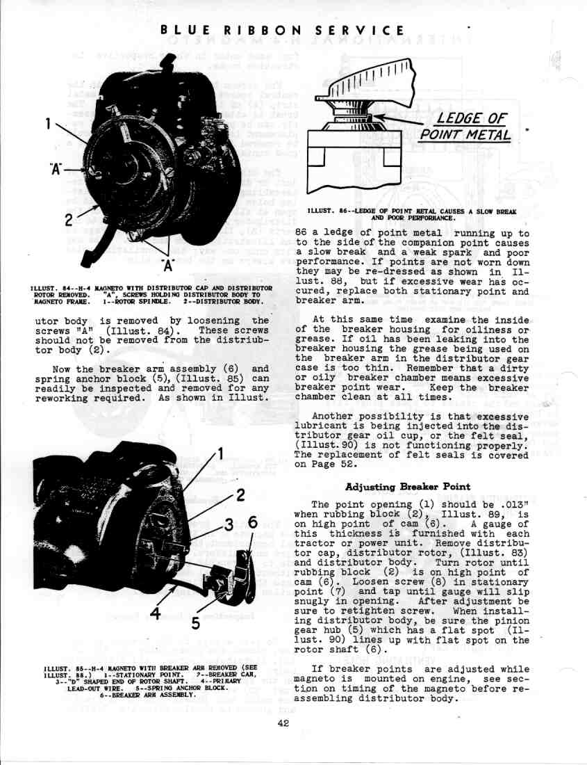 GSS-5035 Service Manual Magnetos