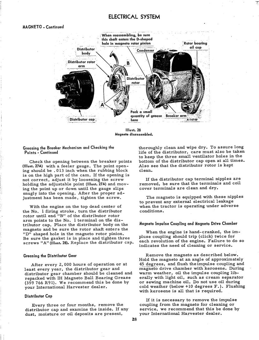 International Cub & Lo-Boy Operator's Manual 7-29-65