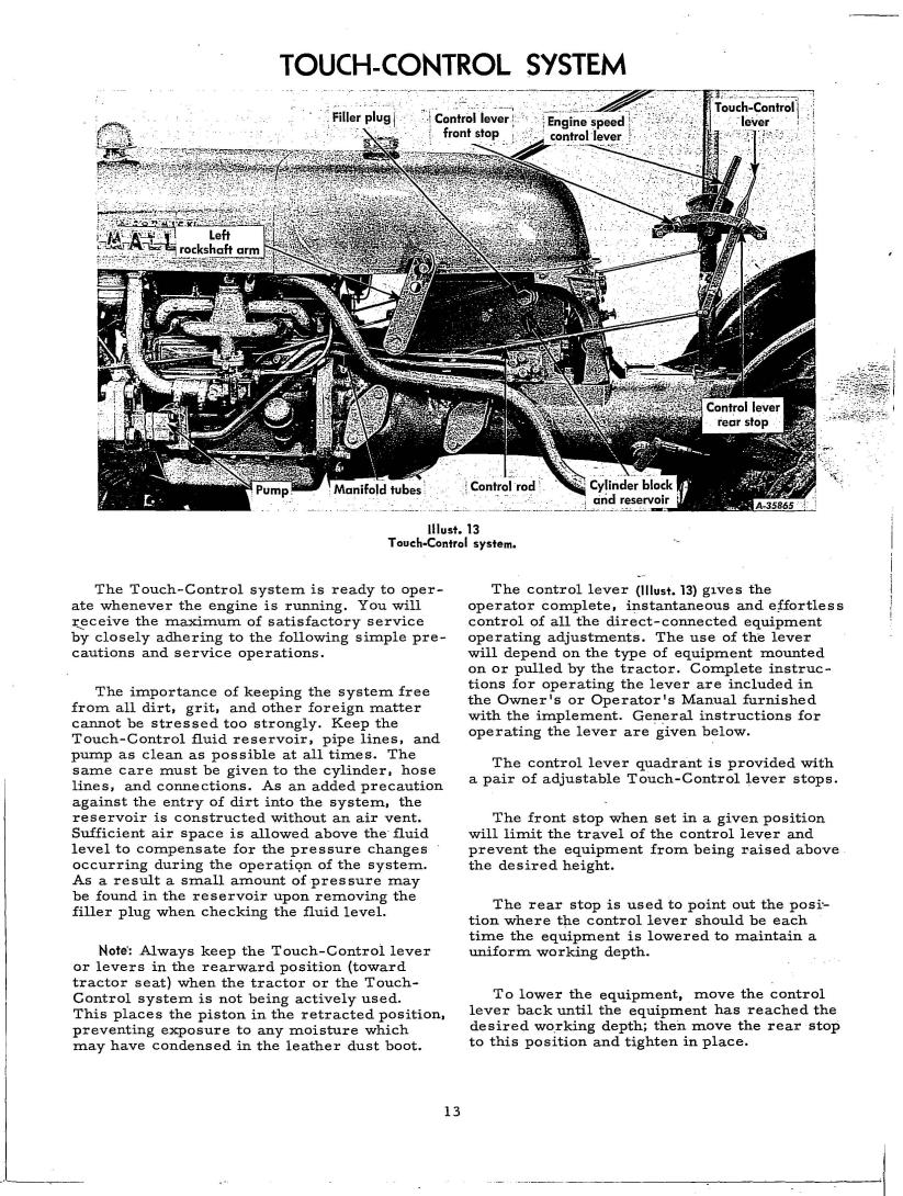 International Cub Lo-Boy Operator's Manual 8-1-63