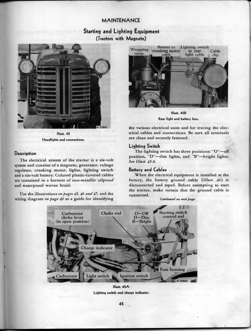 medium resolution of  farmall cub wiring diagram magneto on farmall magneto diagram 1951 farmall cub parts