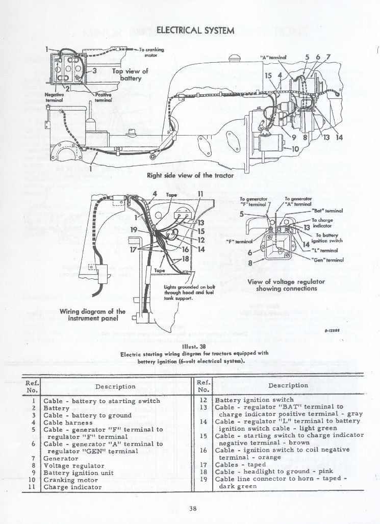 1948 Farmall H Wiring Diagram. Diagrams. Wiring Diagram Images