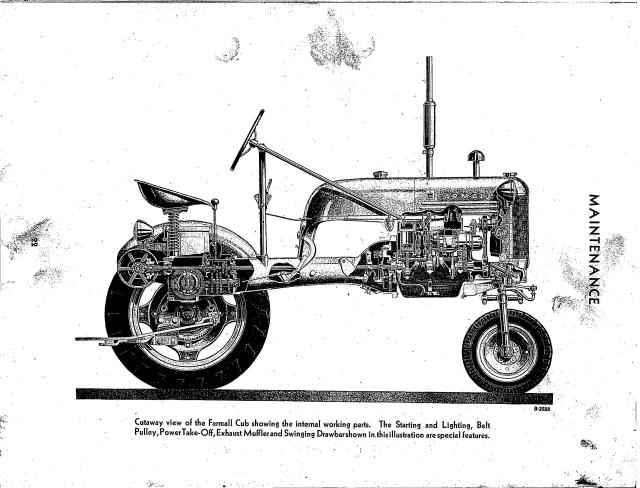 McCormick-Deering Farmall Cub Owner's Manual 5-23-47
