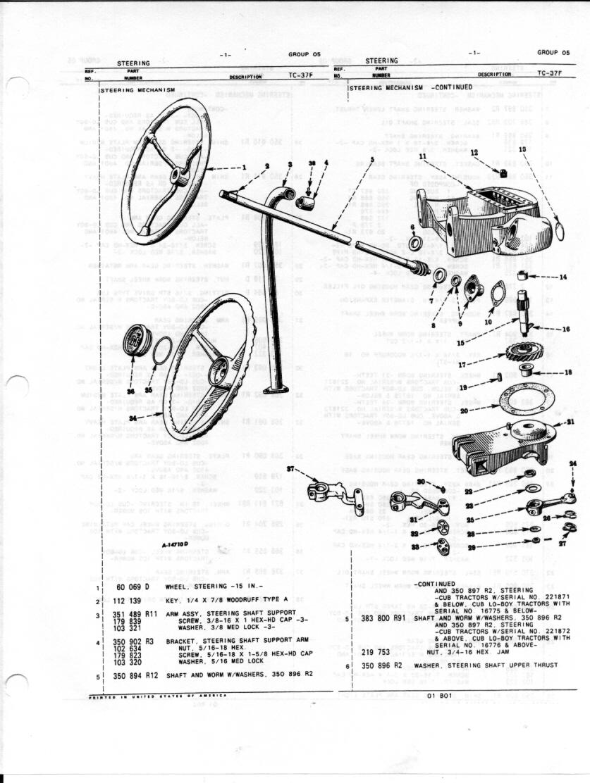 Page 01 farmall cub 6 volt wiring diagram