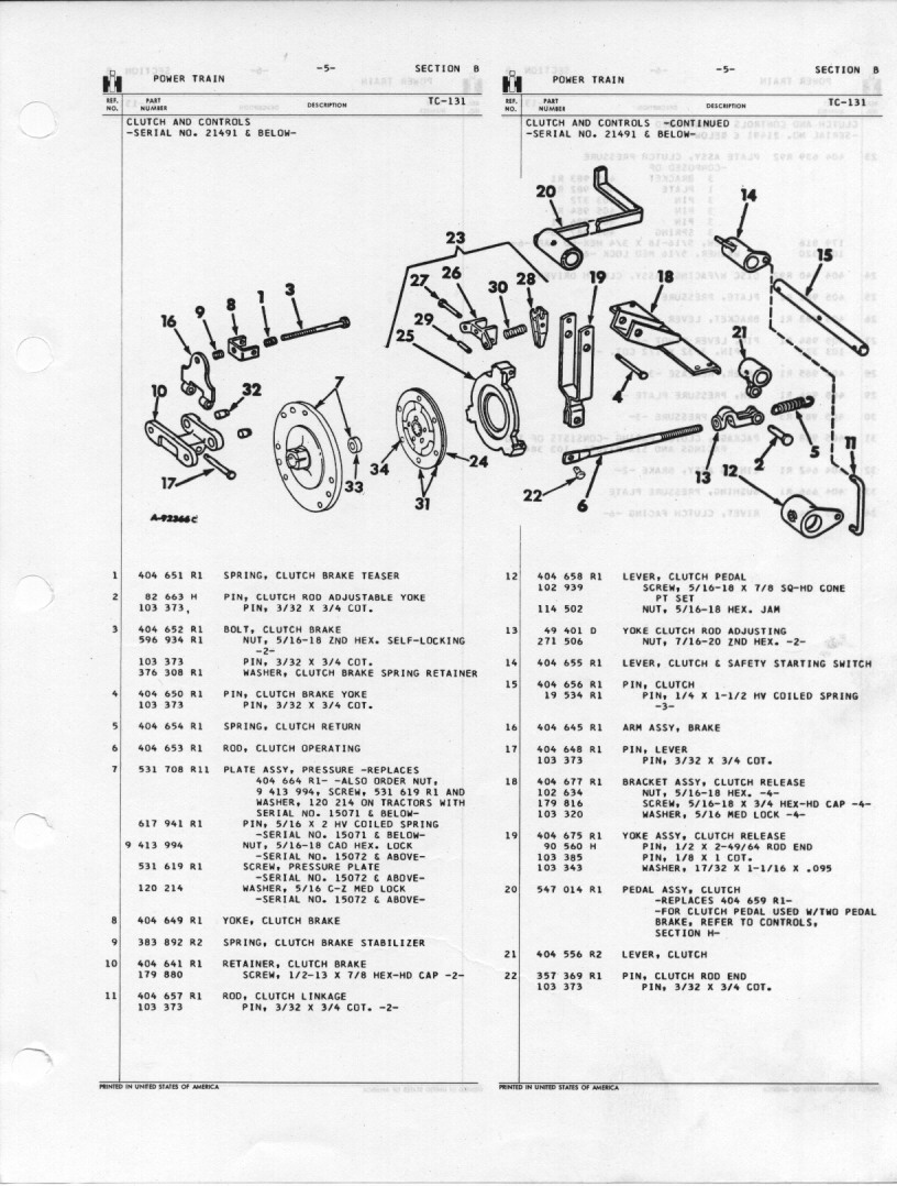 hight resolution of power train 1948 farmall cub farmall cub clutch diagram