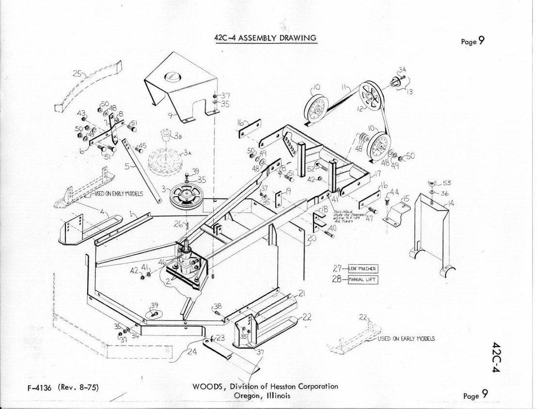 Woods Belly Mower | Wiring Diagram Database