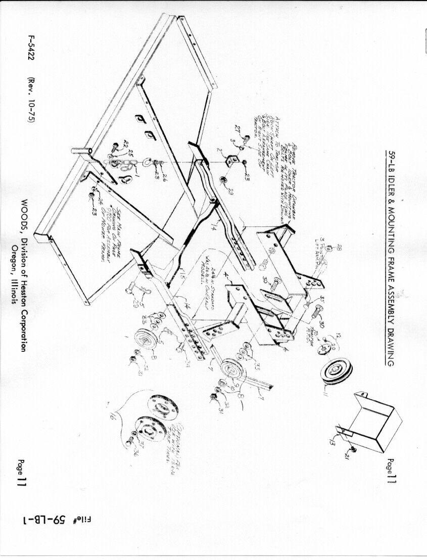 Woods 59-LB Rotary Mower