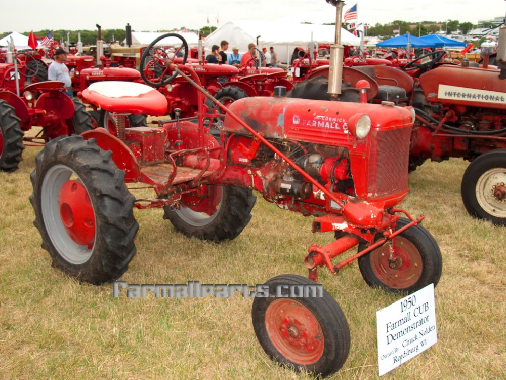 medium resolution of 1950 farmall cub