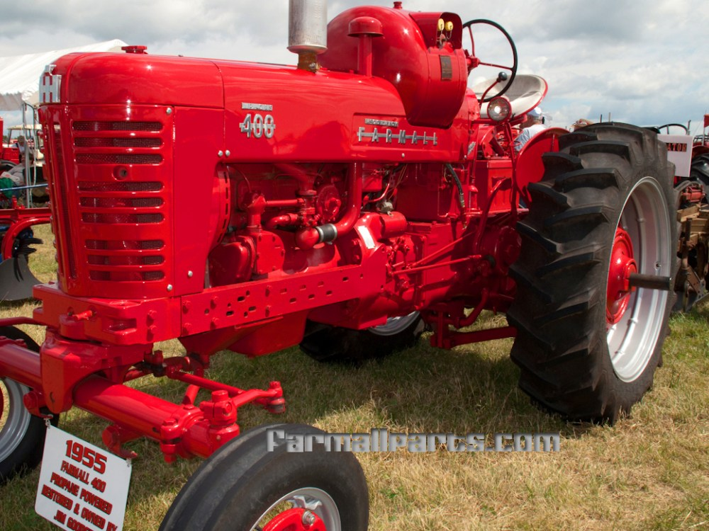 medium resolution of 1955 farmall 400