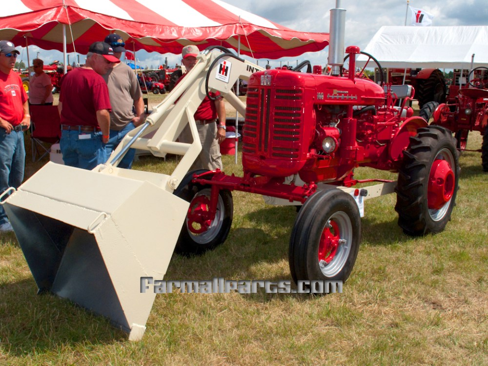 medium resolution of farmall 100 bucket